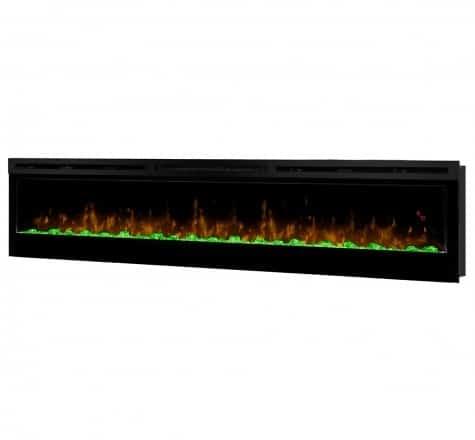 Dimplex Prism Series 74 Inch Wall-Mount Firebox 3