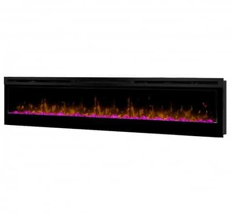 Dimplex Prism Series 74 Inch Wall-Mount Firebox 4
