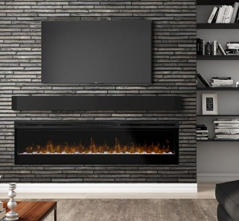 Dimplex Prism Series 74 Inch Wall-Mount Firebox