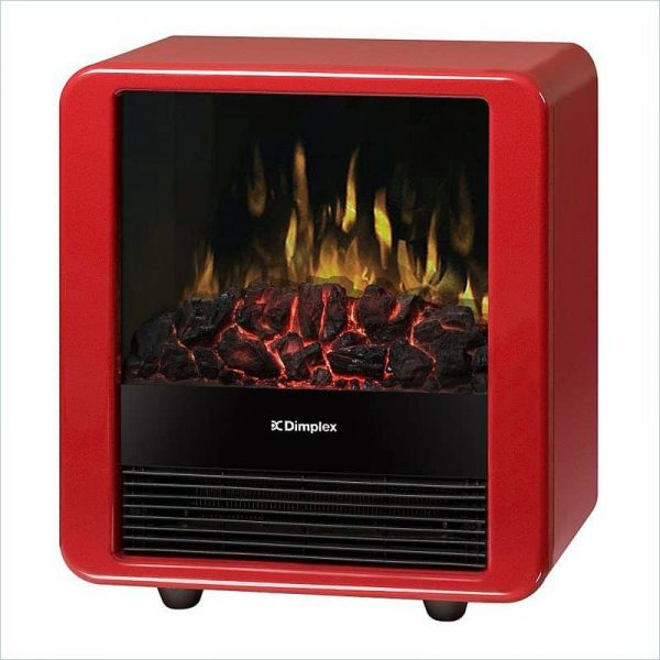 Dimplex Red Mini Cube Electric Stove 1