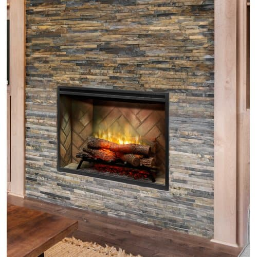 Dimplex Revillusion Wall Mounted Electric Fireplace 1