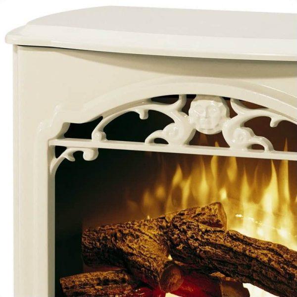 Dimplex Symphony Stoves Celeste Electric Fireplace Stove Heater in Cream 1