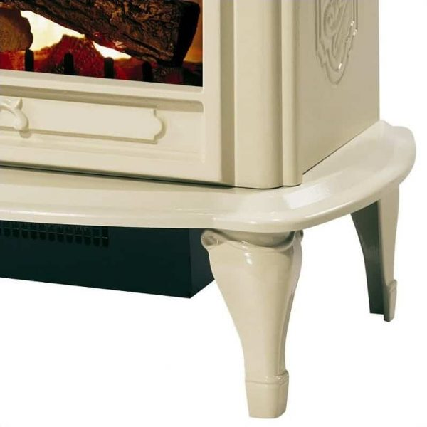 Dimplex Symphony Stoves Celeste Electric Fireplace Stove Heater in Cream 4
