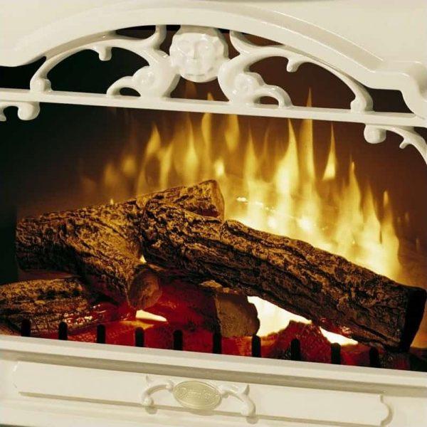 Dimplex Symphony Stoves Celeste Electric Fireplace Stove Heater in Cream 5