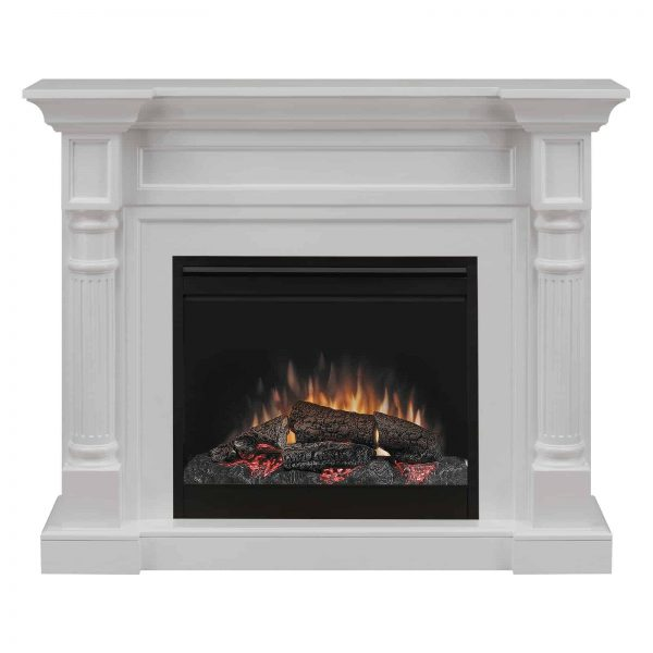 Dimplex Winston Mantel Electric Fireplace With Logs