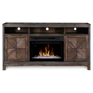 Dimplex Wyatt Media Console Electric Fireplace With Acrylic Ember Bed for TVs up to 50""