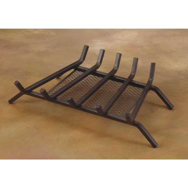 Do it Best Global Sourcing Home Impressions Steel Fireplace Grate with Ember Screen 2