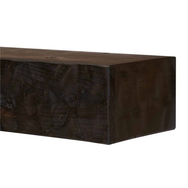 Dogberry Collections Rough Hewn Fireplace Mantel Shelf