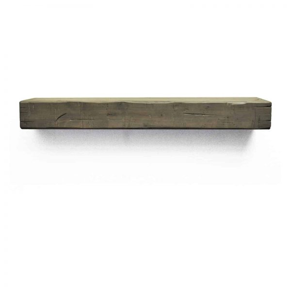 Dogberry Collections Rustic Fireplace Mantel Shelf 5