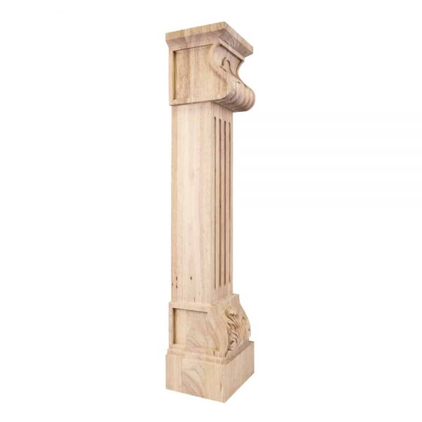 Dubois Fcore-Mp Acanthus Fluted Traditional Fireplace Corbel