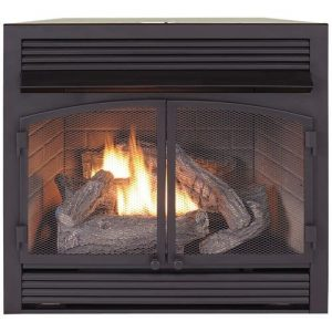 Duluth Forge Dual Fuel Propane Fireplace Insert