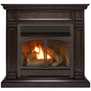 Duluth Forge Dual Fuel Ventless Fireplace - 32