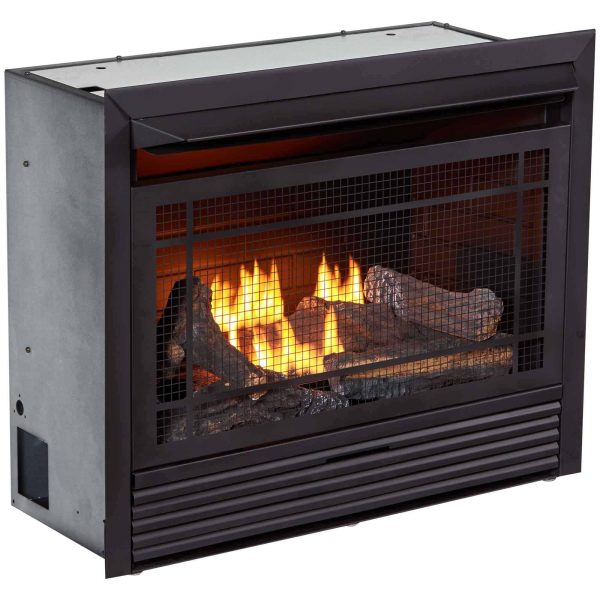 Duluth Forge Dual Fuel Ventless Fireplace Insert - 26