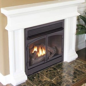 Duluth Forge Dual Fuel Ventless Fireplace Insert - 32