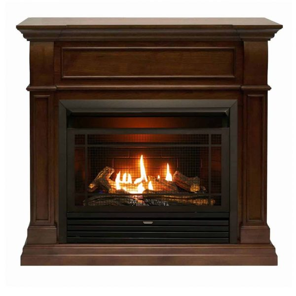 Duluth Forge Dual Fuel Ventless Gas Fireplace - 26