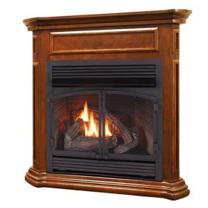 Duluth Forge Dual Fuel Ventless Gas Fireplace - 32