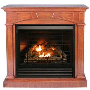 Duluth Forge FDI32R-M-HC Dual Fuel Ventless Gas Fireplace - 32