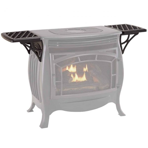 Duluth Forge Shelf Set for Vent Free Gas Stove FDSR25 - Model# FDSR25SS 1