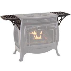 Duluth Forge Shelf Set for Vent Free Gas Stove FDSR25 - Model# FDSR25SS
