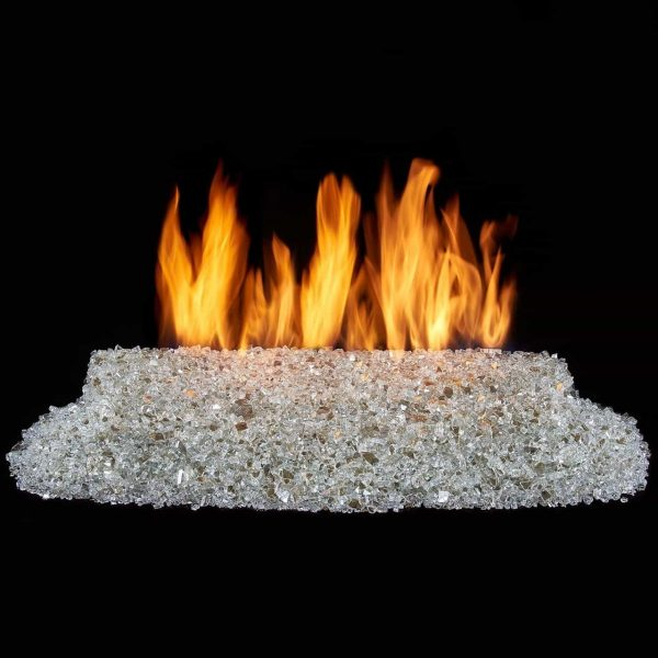 Duluth Forge Vented Fire Glass Burner Kit - 24in., 65,000 BTU, Natural Gas 1