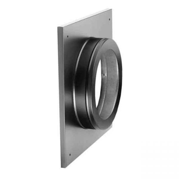 Dura-Vent 46DVA-DC 4'' x 6-5/8'' DirectVent Pro Ceiling Support / Wall Thimble Cover