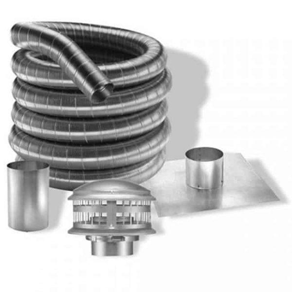Dura-Vent 9406GA 6'' x 36'' DuraTech Galvanized Chimney Pipe