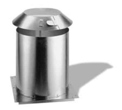 """DuraVent 14DCA-RRS 14"""" Class A Chimney Pipe Roof Radiation Shield"""