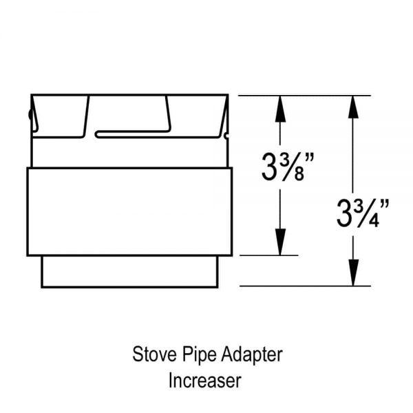 "DuraVent 3PVP-AD Stainless Steel 3"" Inner Diameter 2"