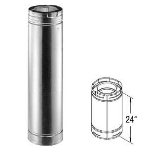 DuraVent 46DVA-24 24 x 4 Inner Diameter - DirectVent Pro Direct Vent Pipe -...