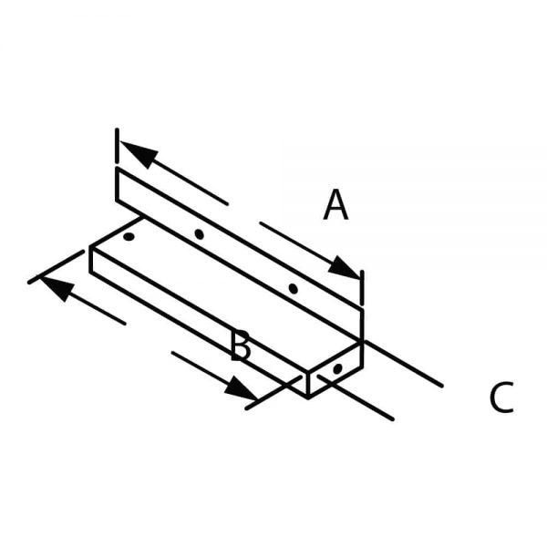"DuraVent 46DVA-CFK Galvanized 4"" X 6-5/8"" Diameter Directvent Pro Direct Vent Pipe 1"