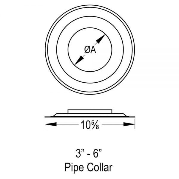 """DuraVent 4GVPC Aluminum 4"""" Inner Diameter 1"""