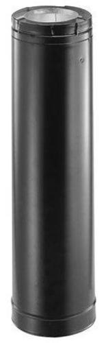 """DuraVent 4PVL-60B Black 4"""" Inner Diameter"""