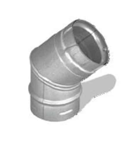 """DuraVent 4PVP-E45 Stainless Steel 4"""" Inner Diameter"""