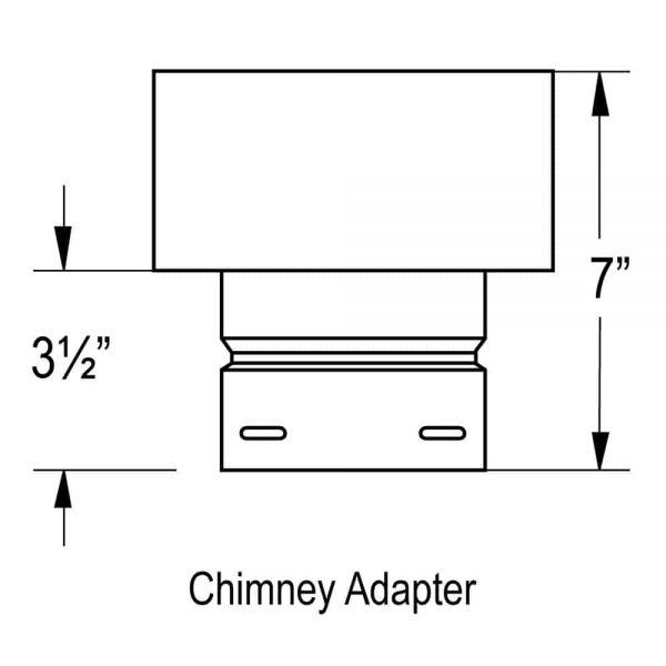 "DuraVent 4PVP-X6 Black 4"" Inner Diameter 2"