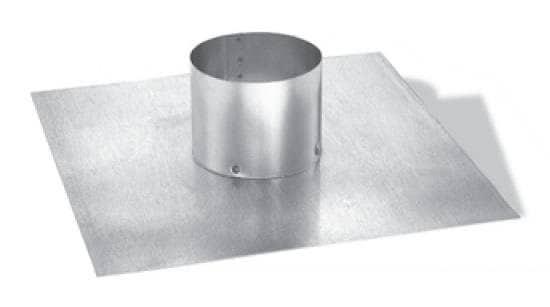 "DuraVent 55DFS-TP Stainless Steel 5.5"" Duraflex Top Plate From The Duraflex Ss Series"