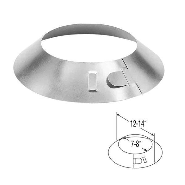 """DuraVent 5DT-SC Stainless Steel 5"""" Inner Diameter 1"""