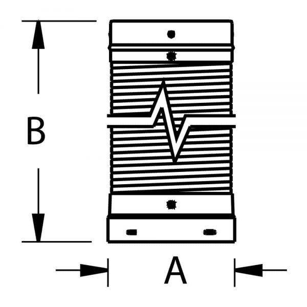 "DuraVent 6DLR-60F Aluminized Steel 6"" Inner Diameter 3"