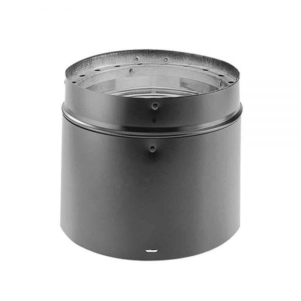 """DuraVent 6DVL-12ADJ Black 6"""" Inner Diameter"""