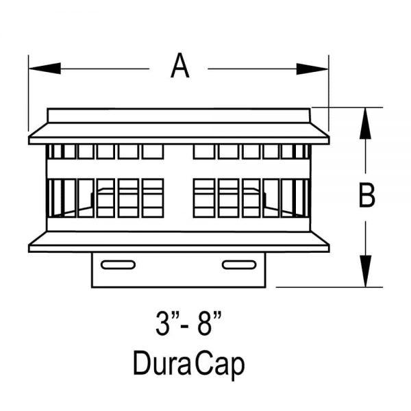 DuraVent 6GVDC Aluminum Aluminum Duracap 1