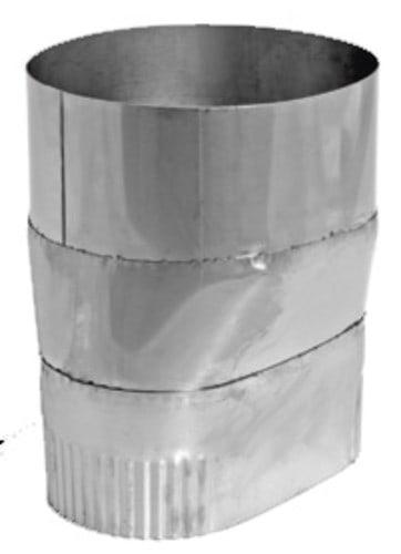 """DuraVent 6VFT-6ADRO Stainless Steel 6"""" X 6"""" Inner Diameter"""