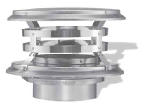 "DuraVent 7DFS-VC Stainless Steel 7"" Inner Diameter"