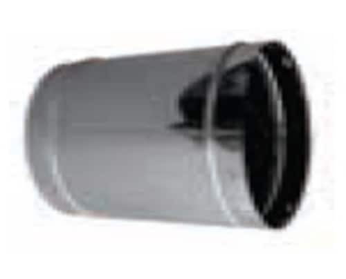 "DuraVent 8DLR-AS Stainless Steel 8"" Chimney Relining Adjustable Sleeve From 8-1/2"" To 12"""