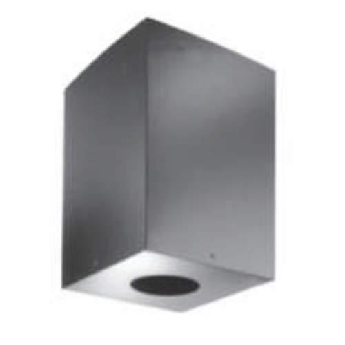 "DuraVent 8DP-CS11 8"" Inner Diameter - DuraPlus Class A Chimney Pipe - Triple Wall - 18.25"" Square Ceiling Support Box"
