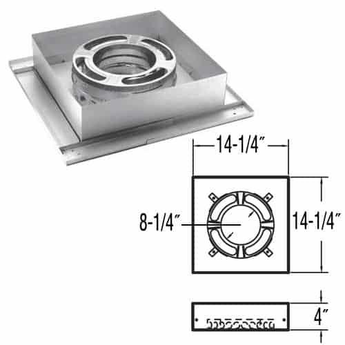 """DuraVent 8DP-FCS 8"""" Inner Diameter 1"""