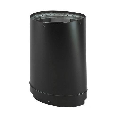 """DuraVent 8DVL-ORAD Black 8"""" Inner Diameter 1"""