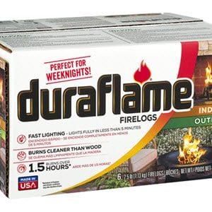 Duraflame 6-pack 2.5LB Firelogs PDQ