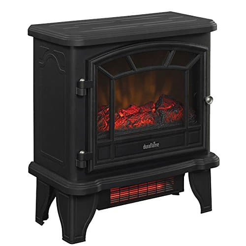 Duraflame DFI-550-22 Infrared Electric Stove Heater Old Fashioned Black 5