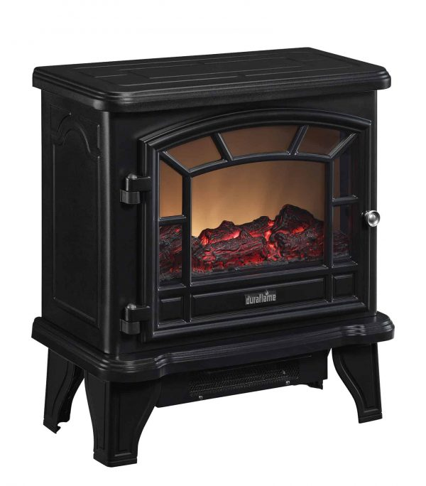 Duraflame Maxwell Electric Stove with Heater, Black 1