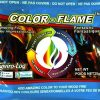 Dynabrade Enviro-Log Color Flame Color-Changing Fire Packets 2
