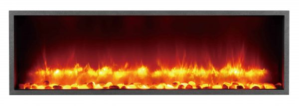 Dynasty 44 in. Built-in LED Electric Fireplace 1